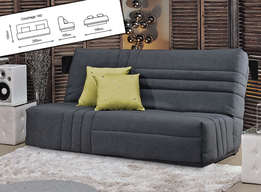 banquette clic clac meubles gain de place. Black Bedroom Furniture Sets. Home Design Ideas